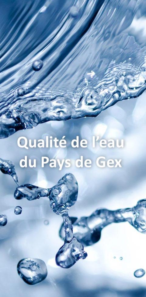 Épisode 1 : Qualité de l'eau du Pays de Gex